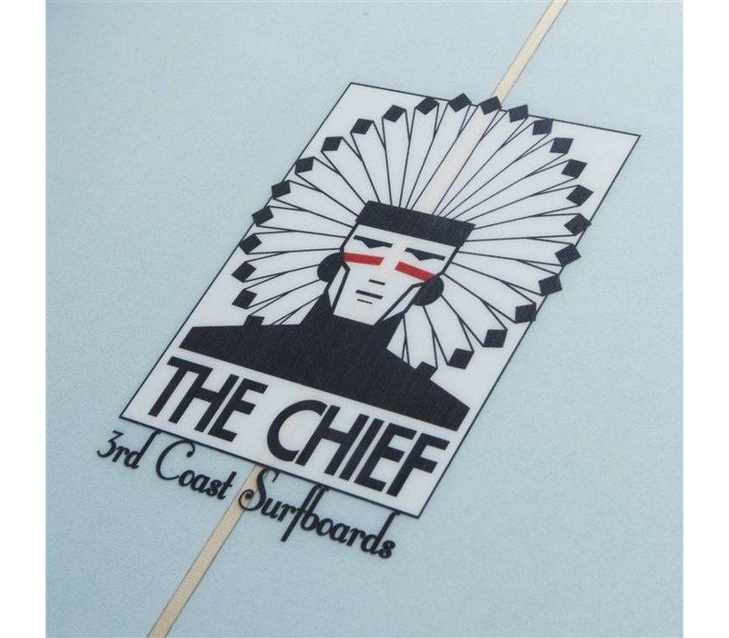 3rd Coast Surfboards 9'4 Chief V4 Blue
