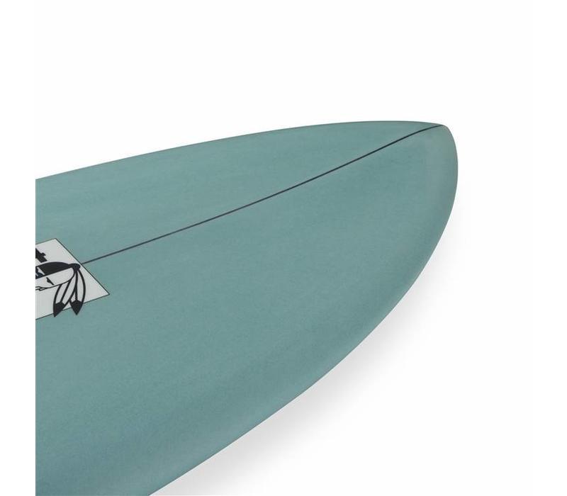 3rd Coast Surfboards 6'0 Warrior Quad V4 Teal
