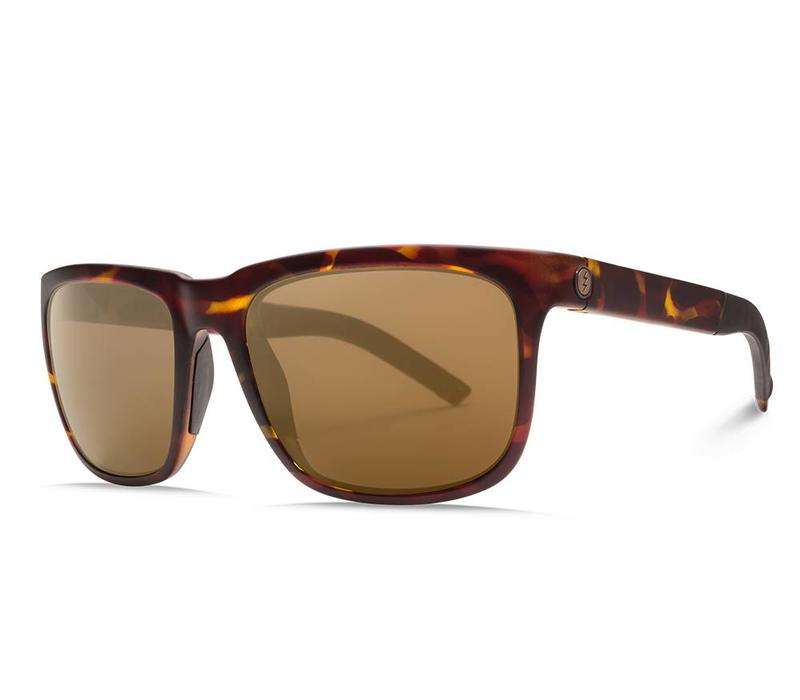 Electric Knoxville S Matte Tortoise OHM Polarized Bronze