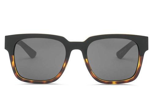 Electric Sunglasses Electric Zombie S Darkside Tortoise OHM Polarized Grey
