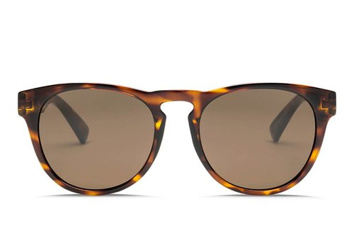 Electric Sunglasses Electric Nashville Gloss Tortoise OHM Polarized Bronze