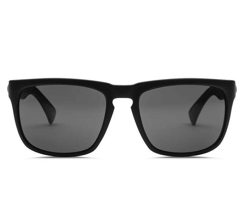 Electric Knoxville Matte Black OHM Polarized Grey