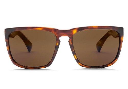 Electric Sunglasses Electric Knoxville XL Matte Tortoise OHM Polarized Bronze