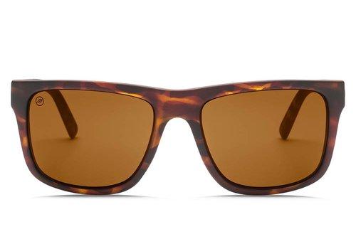 Electric Sunglasses Electric Swingarm XL Matte Tortoise OHM Polarized Bronze