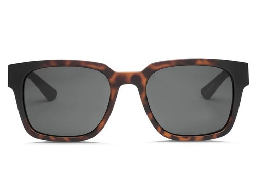 Electric Sunglasses Electric Zombie Tortoise Burst OHM Polarized Grey