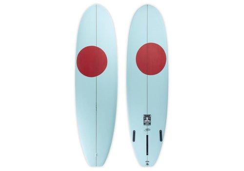 Third Coast 3rd Coast Surfboards  6'10 Medicine Man V6 Mint & Red