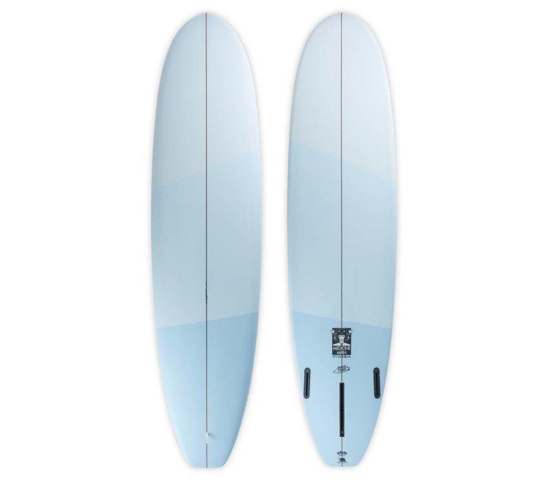 3rd Coast Surfboards 7'2 Medicine Man V6 Three-Tone Blue
