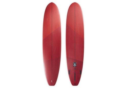 Third Coast 3rd Coast Surfboards  8'6 Medicine Man V6 Tri-Tone Red