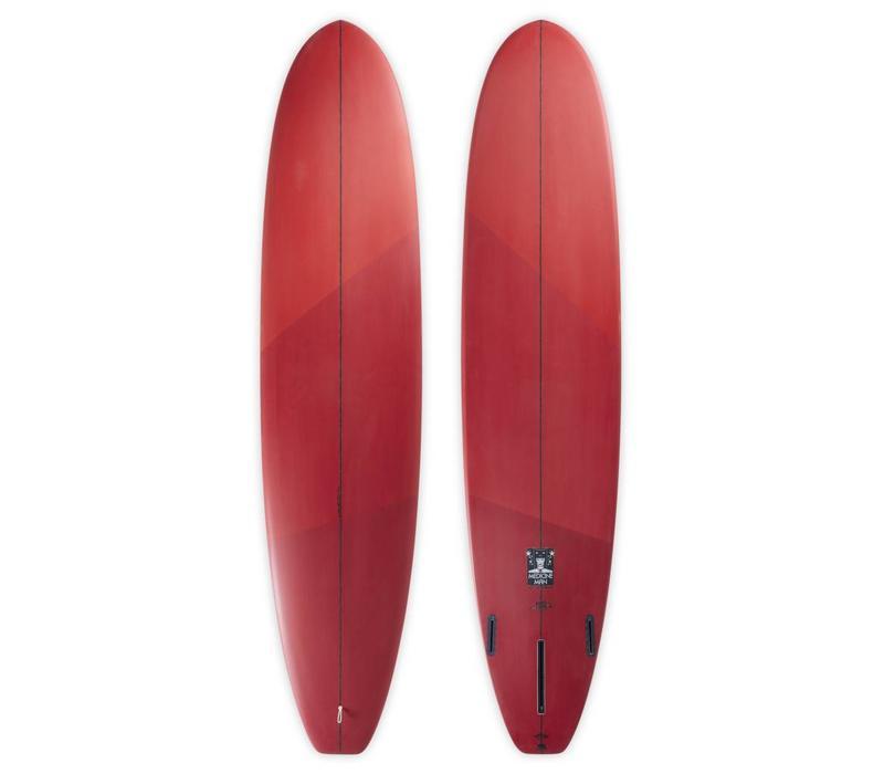 3rd Coast Surfboards  8'6 Medicine Man V6 Tri-Tone Red