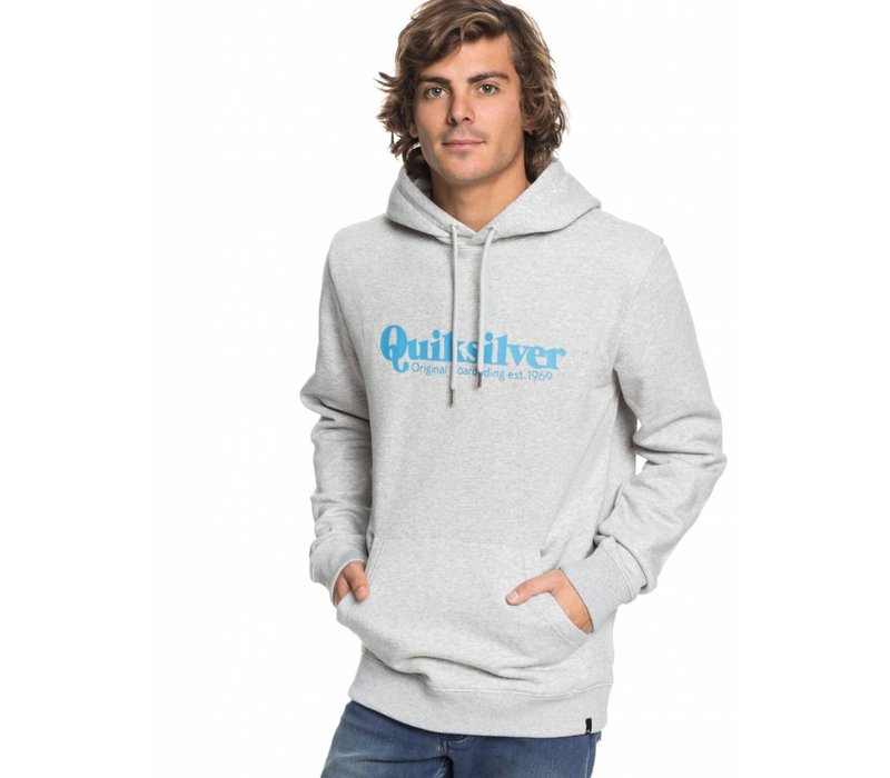 Quiksilver Twin Fin Mates Hoody Heather Grey
