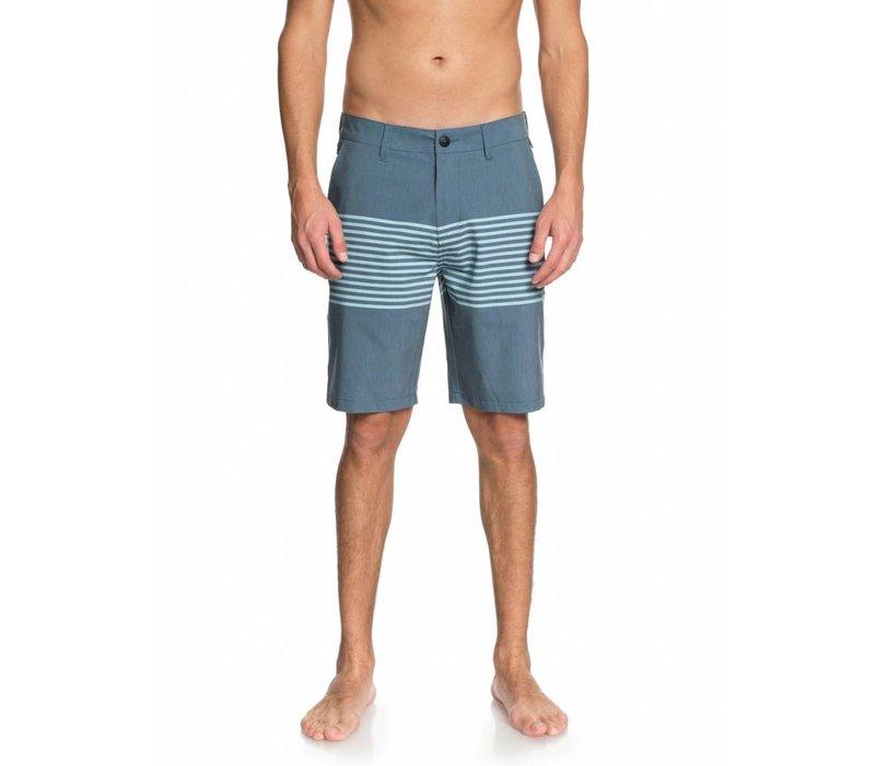 "Quiksilver Echo Stripe 20"" Amphibian Shorts Real Teal"