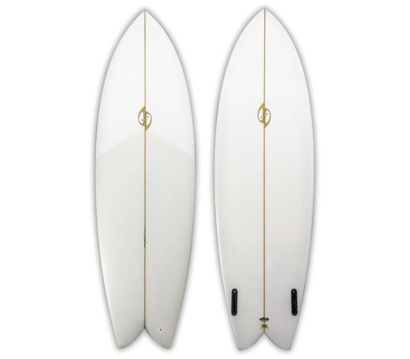 Bing 6'4 Sunfish/Rasta Clear
