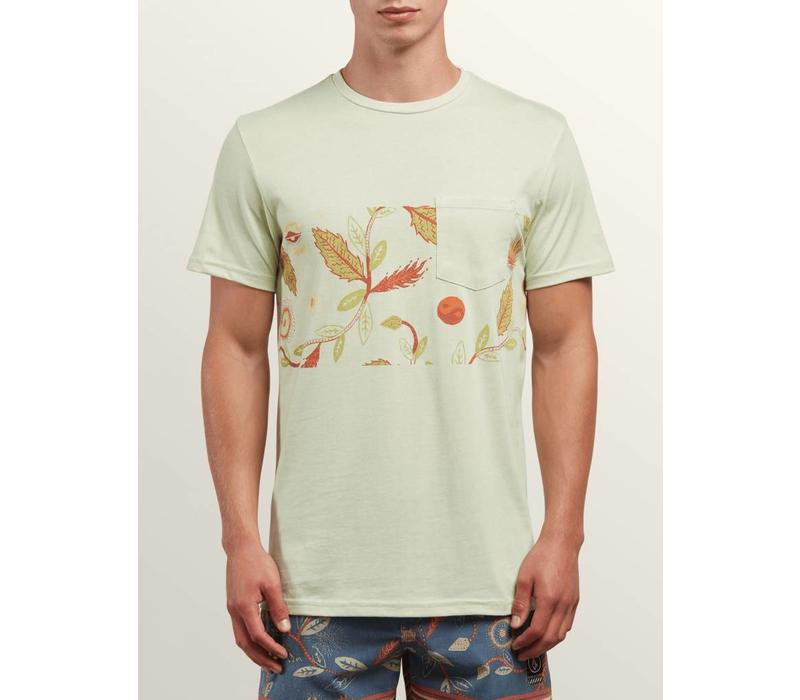 Volcom Sea-Weed Pocket Tee Mist Green