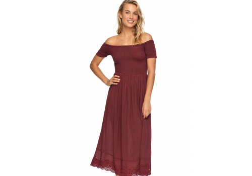 Roxy Roxy Pretty Lovers Off The Shoulder Dress Andora