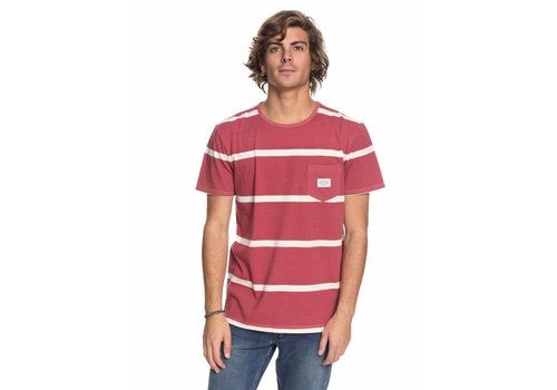 Quiksilver Quiksilver New Maxed Pocket Tee Mineral Red