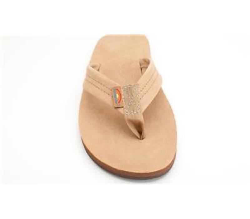 Rainbow Sierra Brown Premier Leather Single Layer Arch Mens