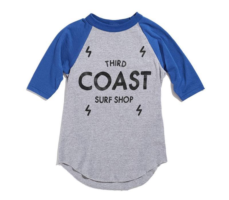 Third Coast Bolts Logo Youth Raglan