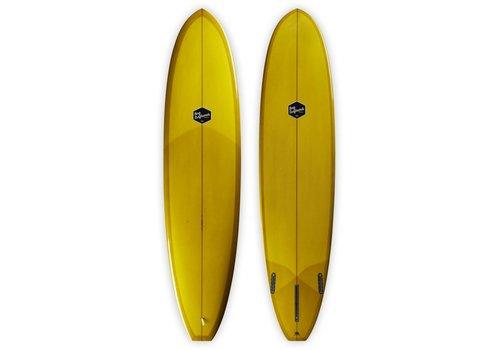 Bing Surfboards Bing 7'8 Seeker Dark Mustard Tint