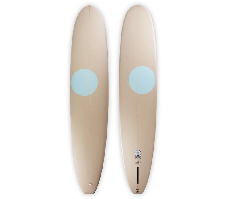 3rd Coast Surfboards 9'2 Chief V6 Tan/Teal Dot