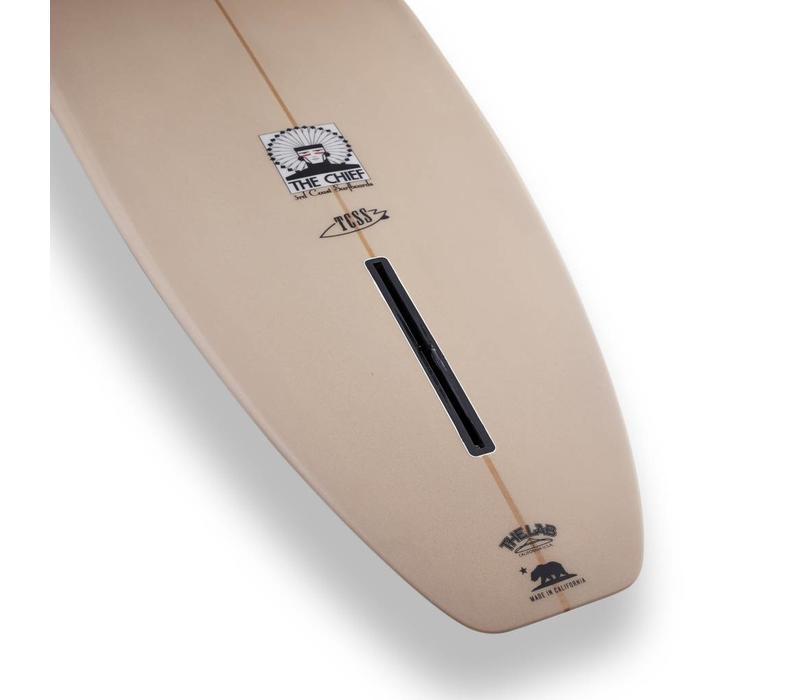 3rd Coast Surfboards 9'2 Chief V6 Tan/Teal Dot