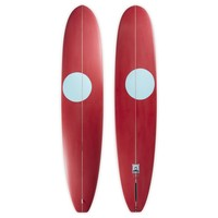 3rd Coast Surfboards 10'0 Chief V6 Red/Teal Dot