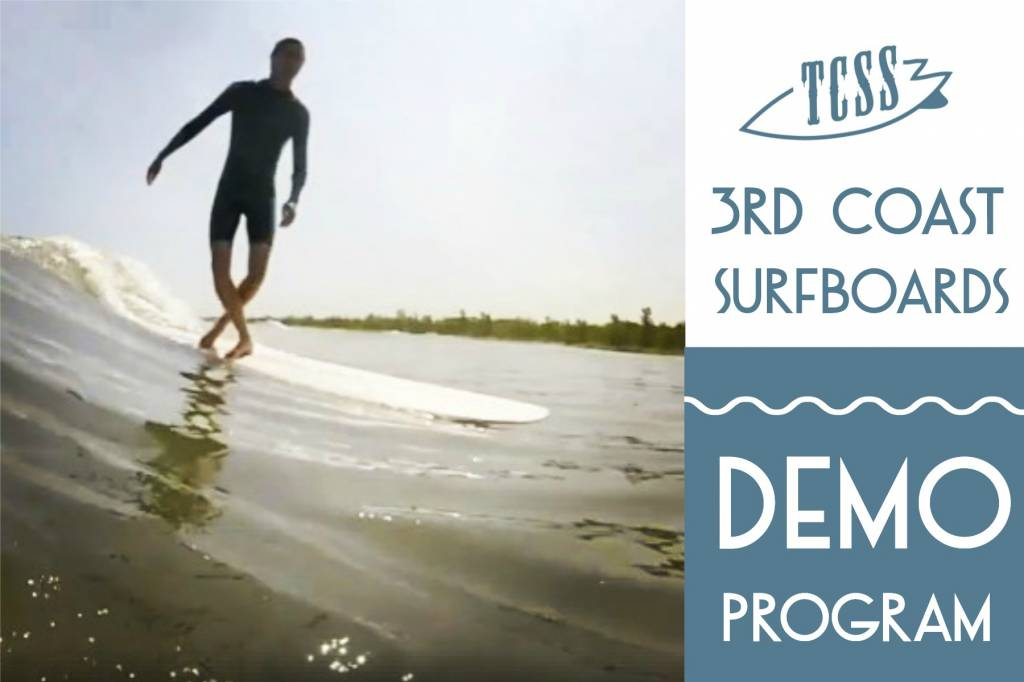 3rd Coast Surfboards Demo Program