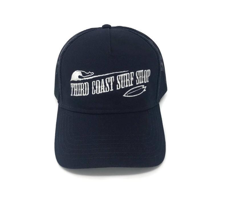 Third Coast Old Fashioned Logo Trucker Hat Navy