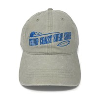 TCSS Old Fashioned Logo Washed Hat Stone