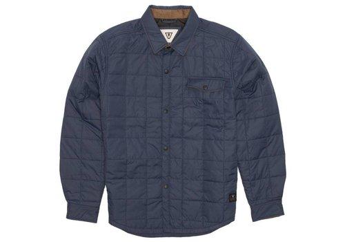 Vissla Cronkite Jacket Denim Blue
