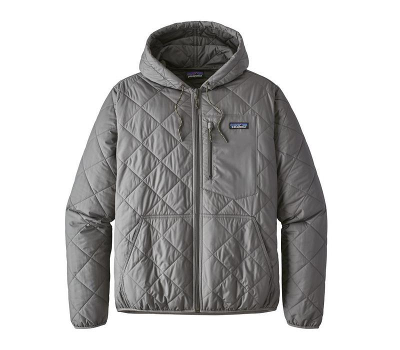 Patagonia M's Diamond Quilt Bomber Hoody Hex Grey