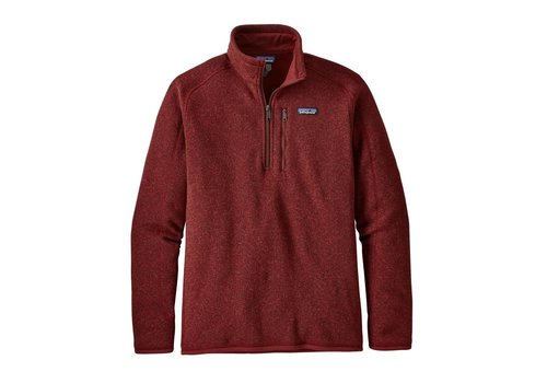 Patagonia Patagonia M's Better Sweater 1/4 Zip Oxide Red