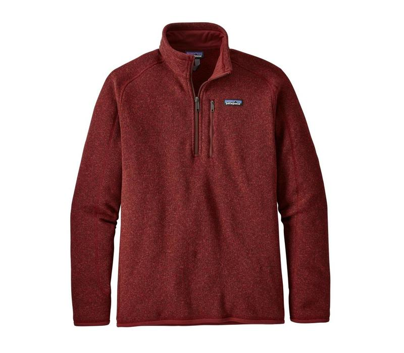 Patagonia M's Better Sweater 1/4 Zip Oxide Red
