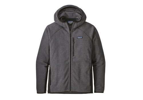 Patagonia Patagonia M's Performance Better Sweater Hoody Forge Grey w/ Black