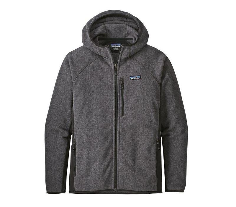 Patagonia M's Performance Better Sweater Hoody Forge Grey w/ Black