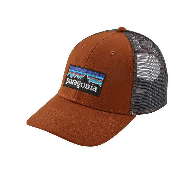 Patagonia P-6 Logo LoPro Trucker Hat Copper Ore