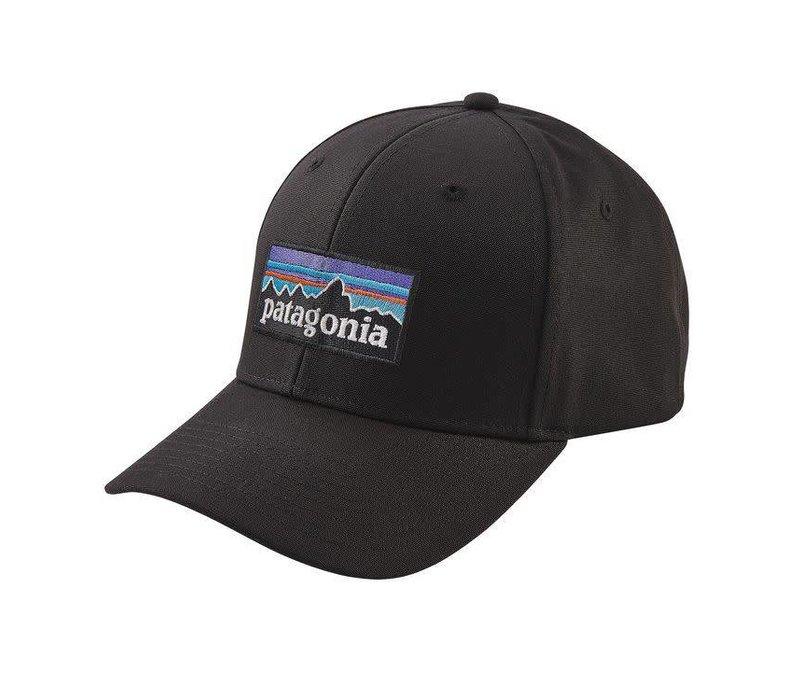 Patagonia P-6 Logo Roger That Hat Black