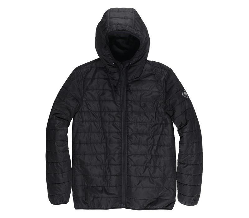 Element Alder Puff Jacket Flint Black