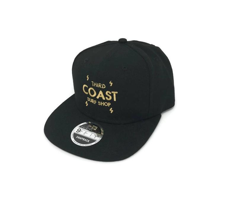 Third Coast Bolts New Era Snapback Black