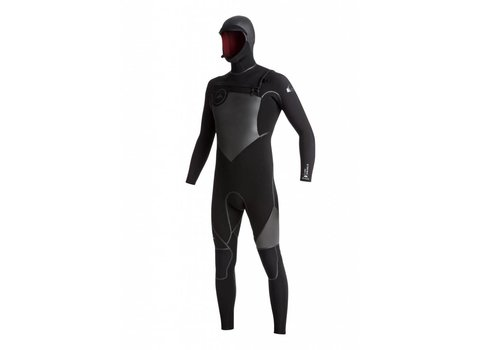 Quiksilver Quiksilver 5/4/3mm Syncro Plus Hooded Chest Zip Black