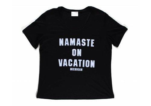 Third Coast Third Coast Namaste Vacation Tee Black