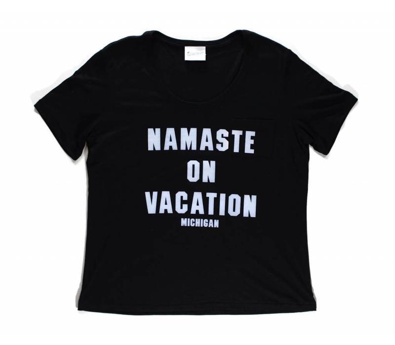Third Coast Namaste Vacation Tee Black