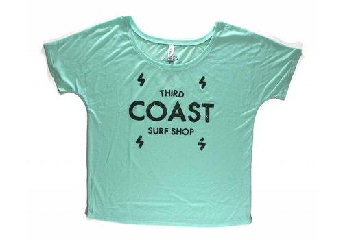 Third Coast Third Coast Bolts Logo Mint Green