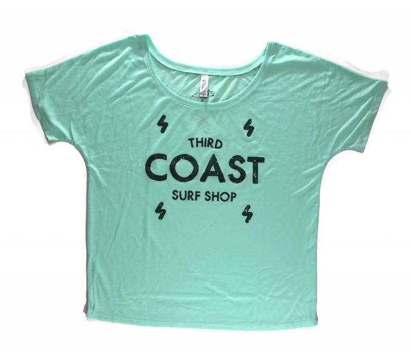 Third Coast Bolts Logo Mint Green