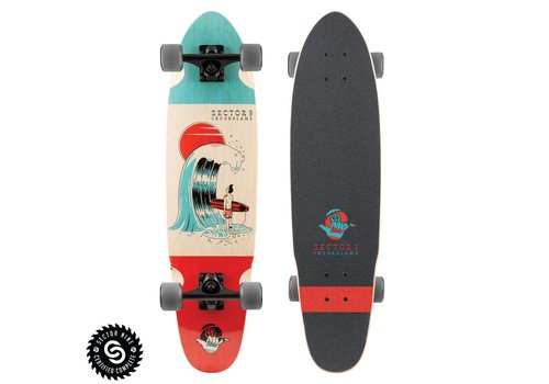 """Sector 9 Sector 9  #Outthere Complete 31.5"""" x 8.25"""""""