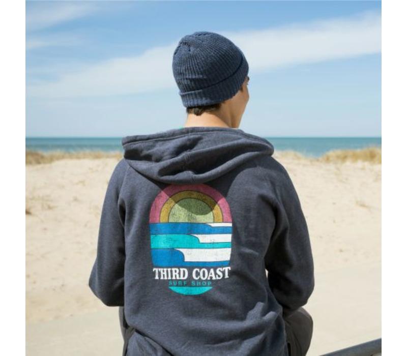 Third Coast Surf n' Sun Zip Hoody