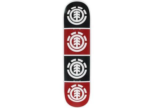 Element Element Quadrant Deck 8.0 White/Black/Red/White