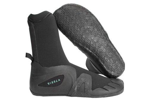 Vissla Vissla 7 Seas Round Toe Bootie 7mm Black