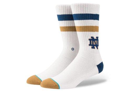 Stance Stance Notre Dame White Large Socks