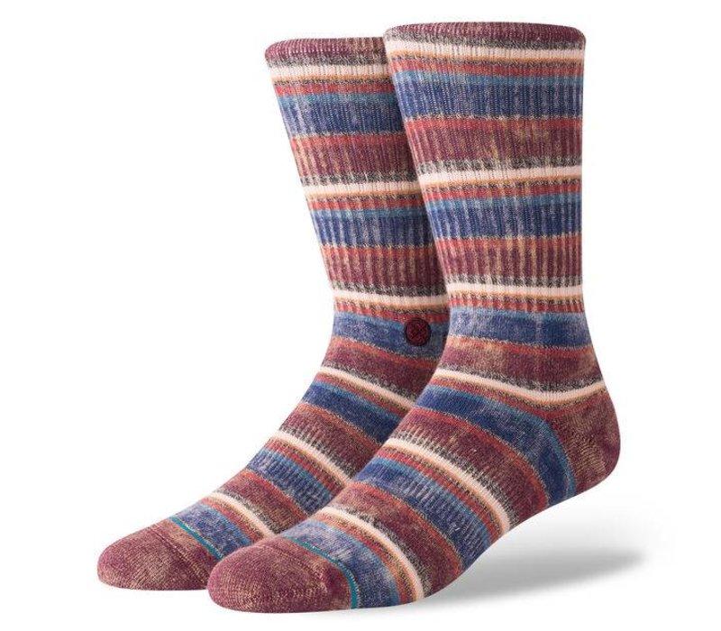 Stance Sarthe Maroon Large Socks
