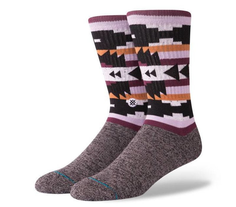 Stance Lyonz Black Large Socks